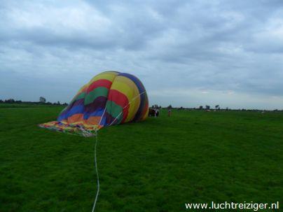 Landing Luchtballon Stolwijk, Zuid-Holland