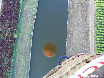 Ballonvaren boven Boskoop