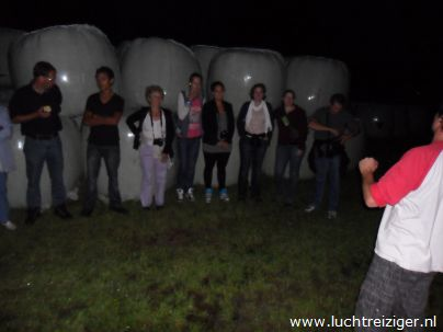Veilig geland met luchtballon in Vuren (v.a. papendrecht, via Gorinchem)