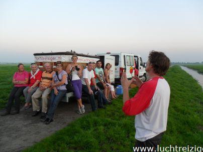 Deze Ballonvaart voer van Oudewater, de Zuiverboerderij, naar Polsbroekerdam. Ballonvaren in het Groene Hart van Zuid-Holland, is een ware belevenis. We zien vanuit de lucht Gouda, Montfoort, Linschoten, Lopikerwaard, Utrecht, woerden, nieuwenbrug, Bodegraven en nog veel meer. De ballonvaart wordt afgesloten met een traditionele champagnedoop in het weiland van de landeigenaar