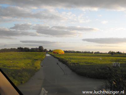 Exclusief over de Lopikerwaard met een priv? luchtballon voor twee passagiers