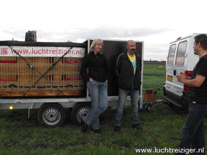 Dat was het dan weer. een ballonvaart boven het groene Hart van Zuid-Holland