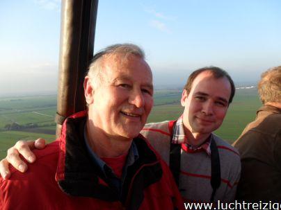 Genieten van het uitzicht boven Gorinchem, en later Meerkerk