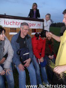 In het weiland nagenieten in IJsselstein
