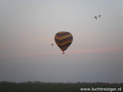 Ballonvaart 29 april 2013 vanuit Rotterdam-zuid, via Capelle aan den IJssel naar Streefkerk. Het zicht was perfect over deze gigantische metropool. De Luchtballon deed het prima.