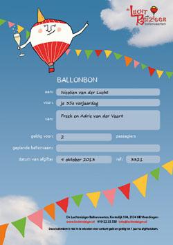 Gefeliciteerd Ballonbon: mooi kado