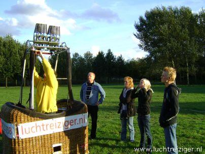 Waddinxveen Gouwebos met luchtballon