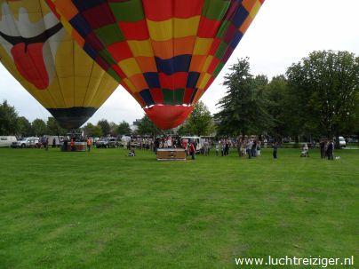 Ballonvaarten vanuit Papendrecht, Vondelpark