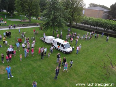 Vondelpark, Papendrecht vanuit luchtballon