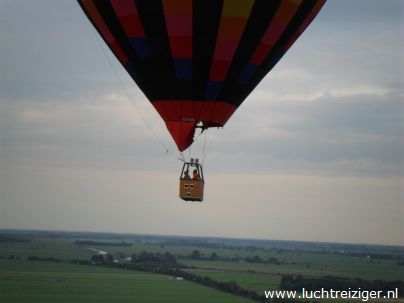 luchtballon vanuit Papendrecht naar Haastrecht