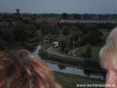 Overzicht tijdens ballonvaart Papendrecht Stolwijk