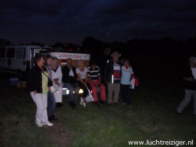 luchtdoop Stolwijk na ballonvaart