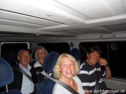 terugrit na ballonvaart vanuit Stolwijk naar Papendrecht
