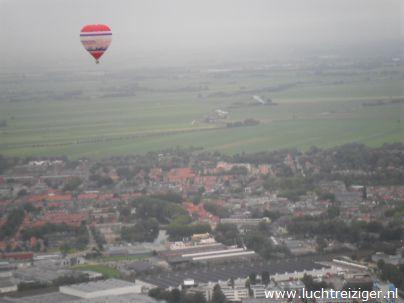 Ballonvaren boven Woerden