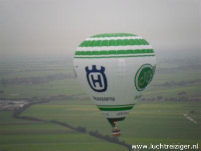 Ballonvaart boven Oudewater