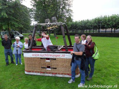 Start ballonvaarten in Vondelpark Vuren