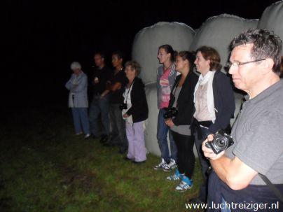 Luchtdoop t.b.v. ballonvaart van Papendrecht naar Vuren