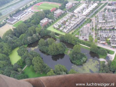 Ballonvaren in Zuid-Holland