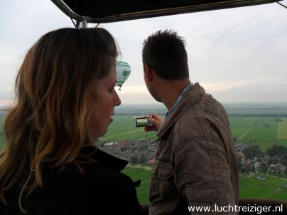 Uitzicht over Ottoland Alblasserwaard zuid-Holland