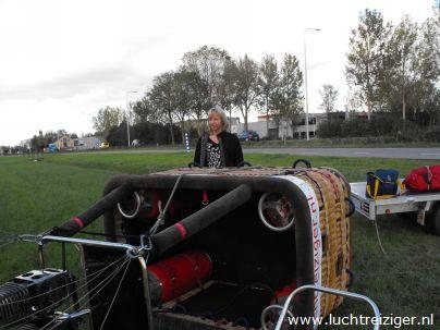 Champagnedoop in Schoonhoven na prachtig uitzicht en geweldige ballonvaart over de Lopikerwaard. Van Montfoort naar Schoonhoven. Het Groene Hart van boven is zeker zo mooi als het Groene Hart van Zuid-Holland van beneden