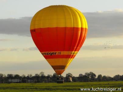 Ook leuk voor een huwelijksaanzoek,een priv? luchtballon voor 2 passagiers