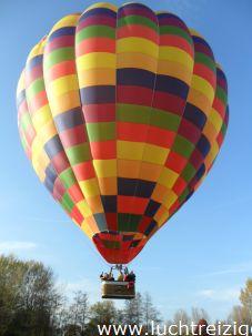 Ballonvaart vanuit Nieuwegein naar Ijsselstein