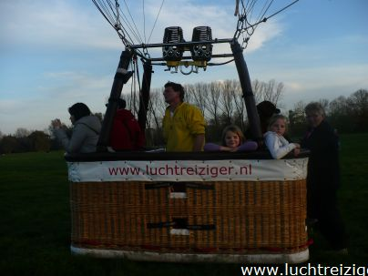 Grondfoto's van luchtballonmand