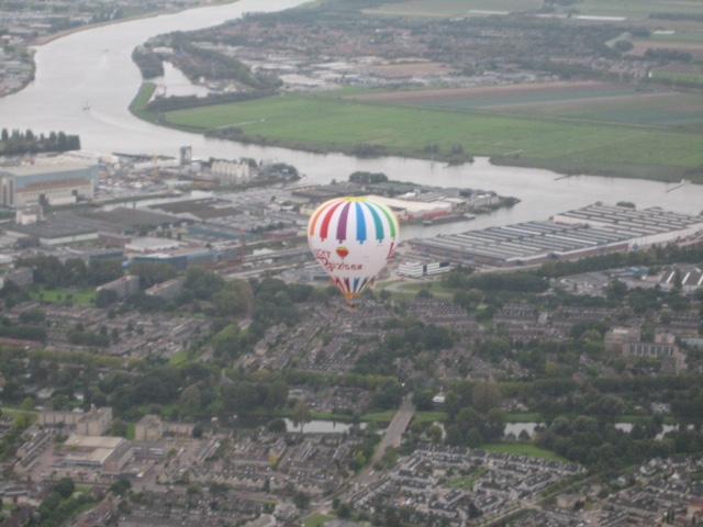 Ballon PH-PAF vanuit PH-DLB 5 oktober 2014